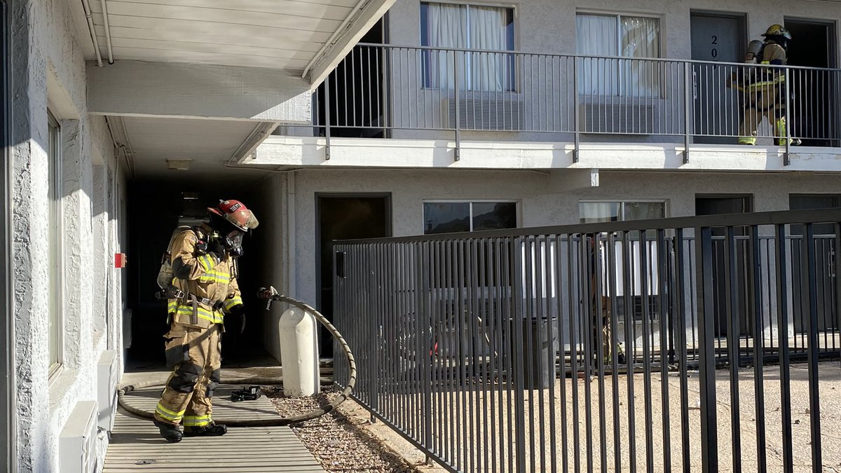 On Nov. 19, TFD responded to a hotel fire on East Benson Highway.