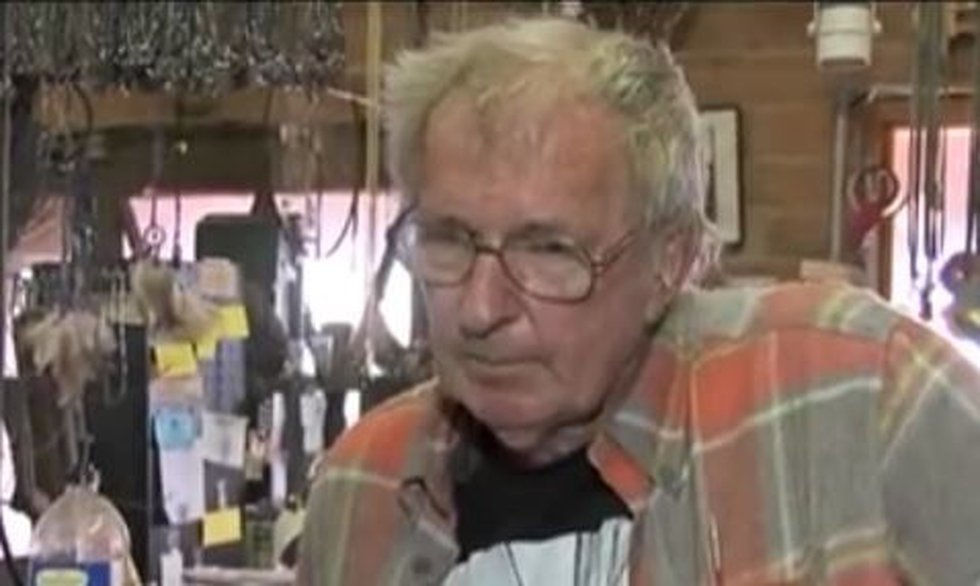 Ron Ratkevich, co-owner of Tucson Mineral and Gem World. (Source: KOLD News 13)
