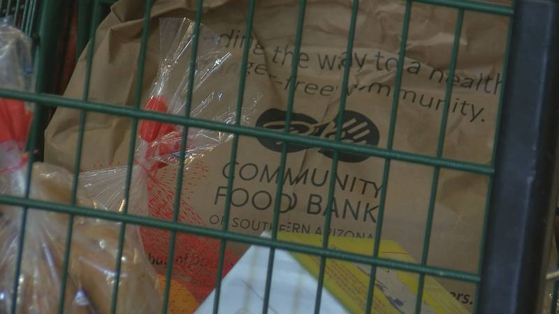 The Community Food Bank of Southern Arizona provides help to seniors who are struggling.