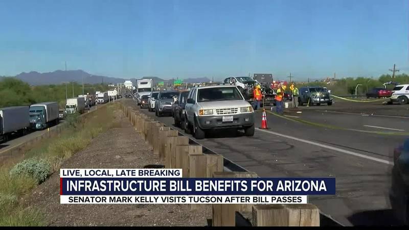 Infrastructure bill benefits for Arizona
