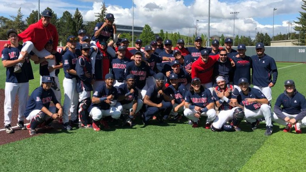 Will this be the last winning postgame picture that Arizona Baseball takes in 2019?