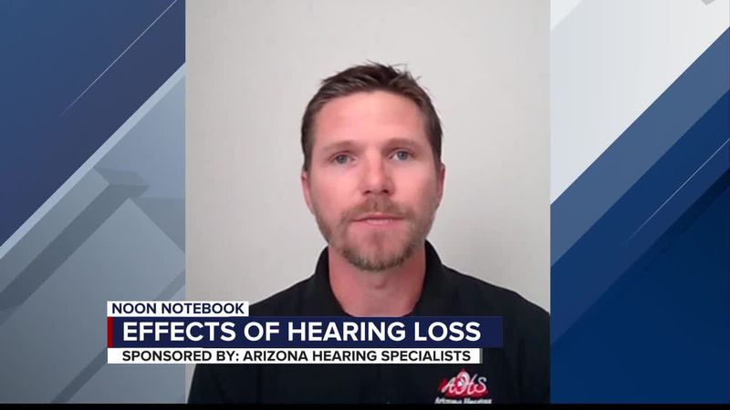 KOLD Noon Notebook: Effects of hearing loss