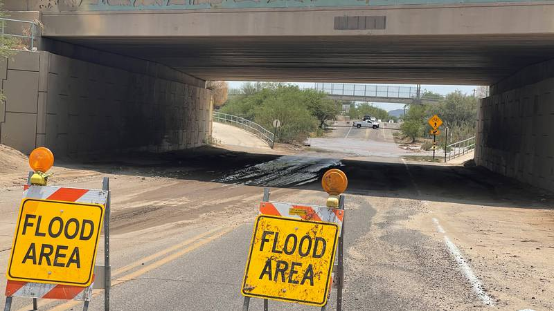 Monsoon has taken a beating to Pima County Roads, when PDOT plans to fix the damage