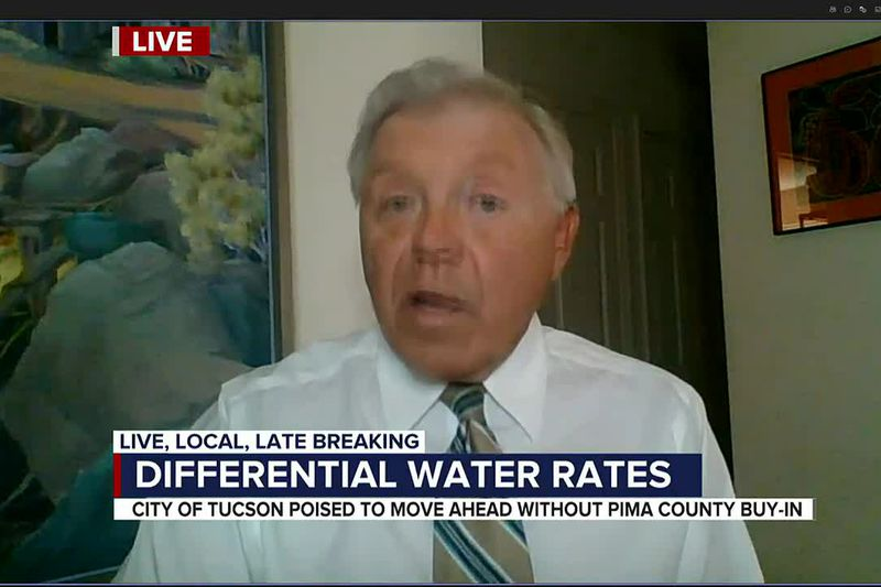 Is it okay to charge water customers who live in unincorporated Pima County more for their...