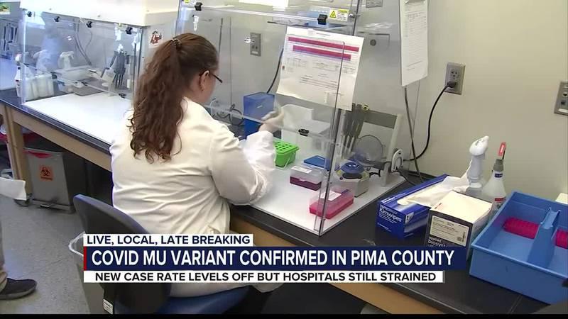 Mu variant found in Pima County