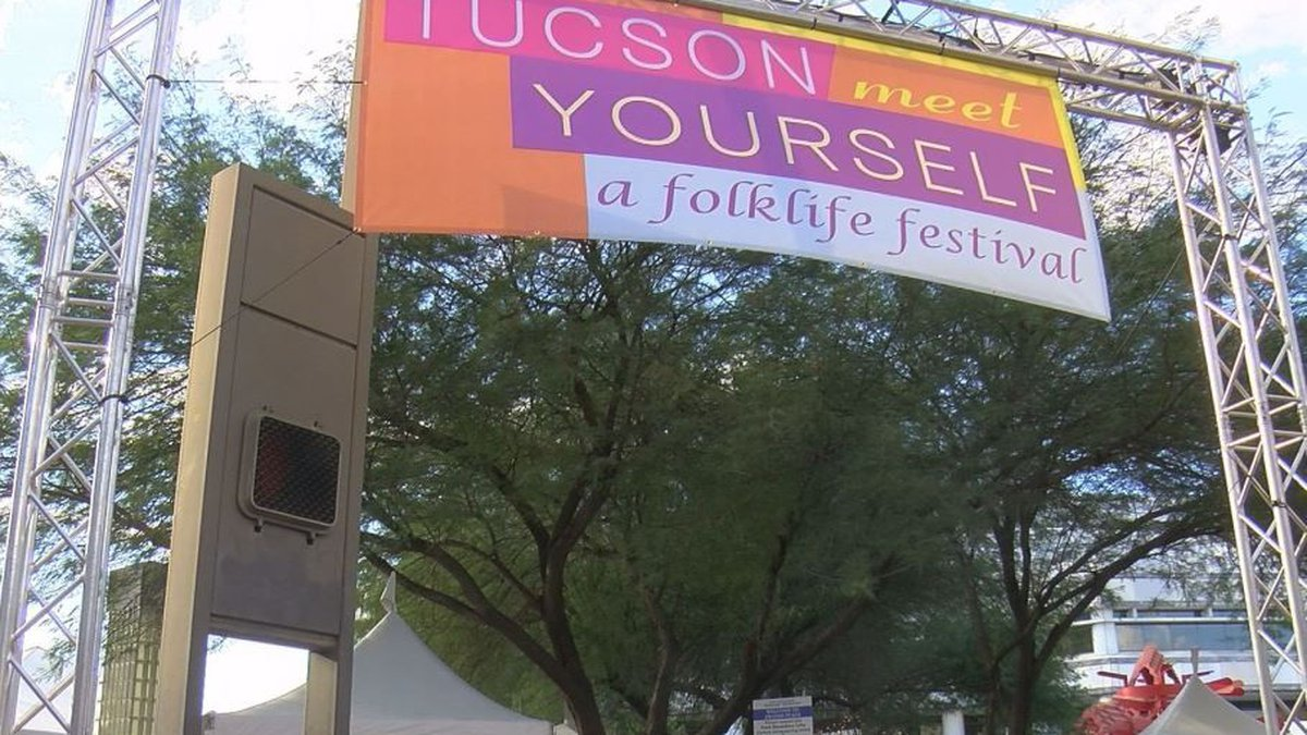 On the last day of Tucson Meet Yourself, several people took the opportunity to get the...
