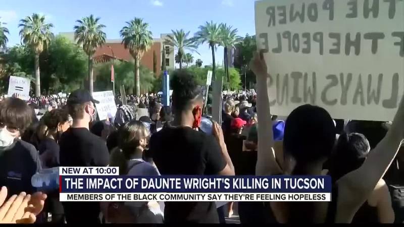 Tucson reaction to Wright shooting