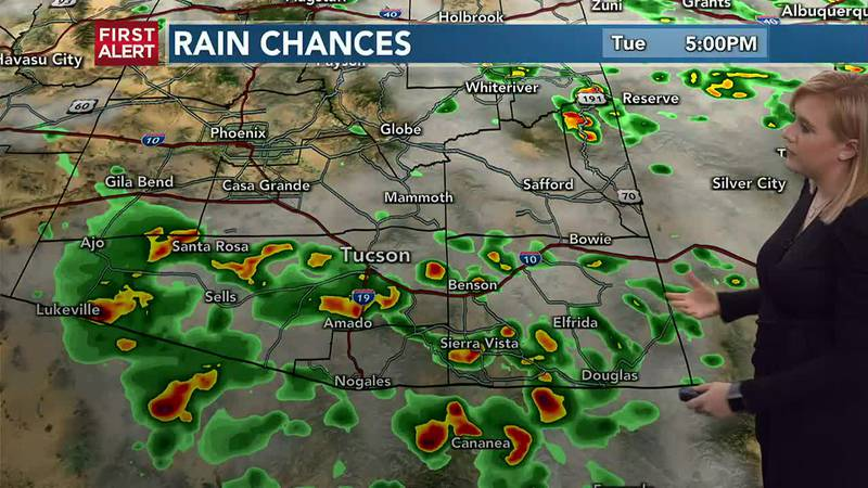 KOLD First Alert Forecast Tuesday AM, July 27th