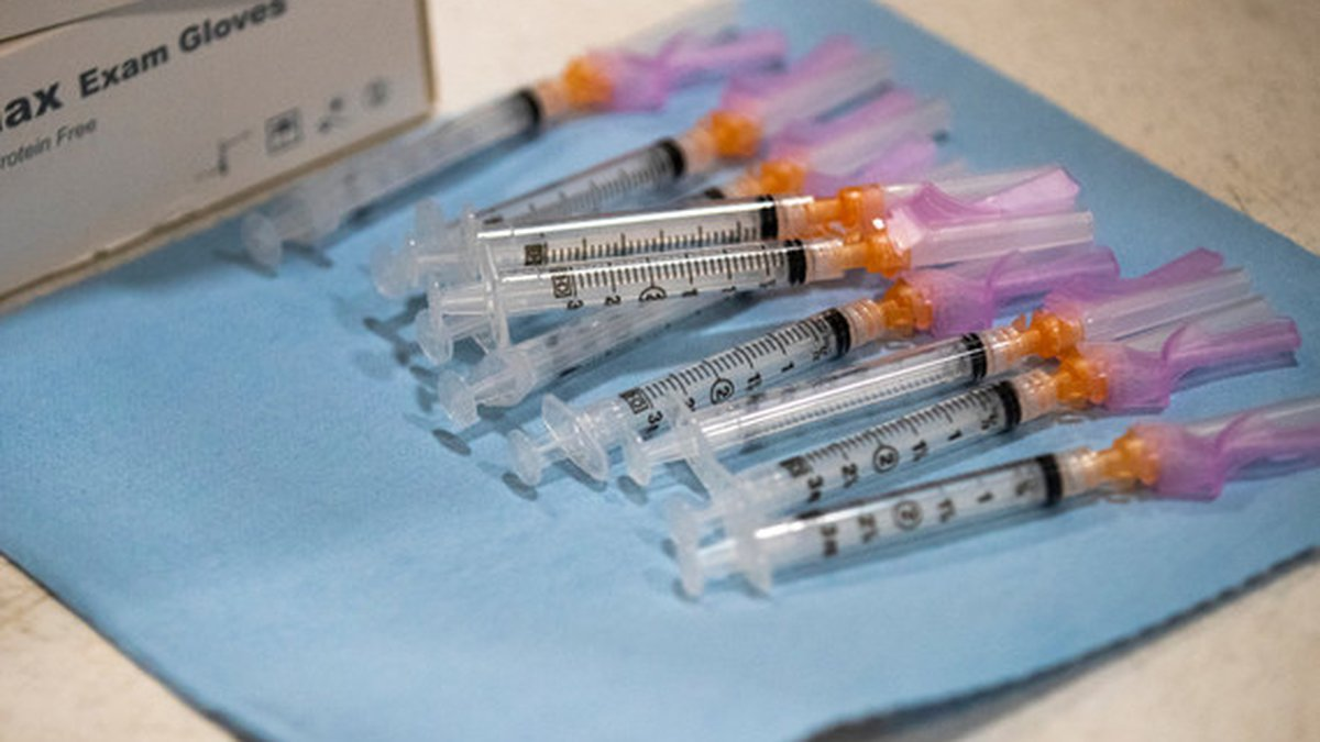 Third shots are only available to people who received the Pfizer vaccination series.