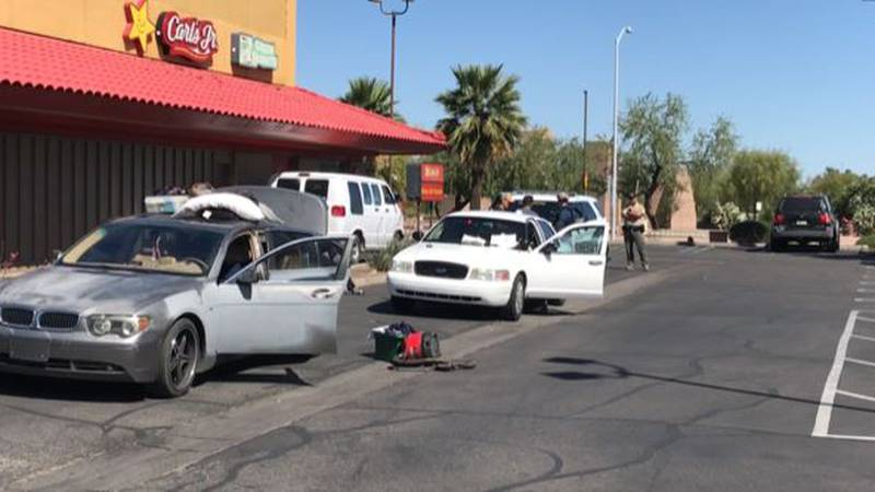 Two arrested with drugs, possible counterfeit money (Source: KOLD News 13)