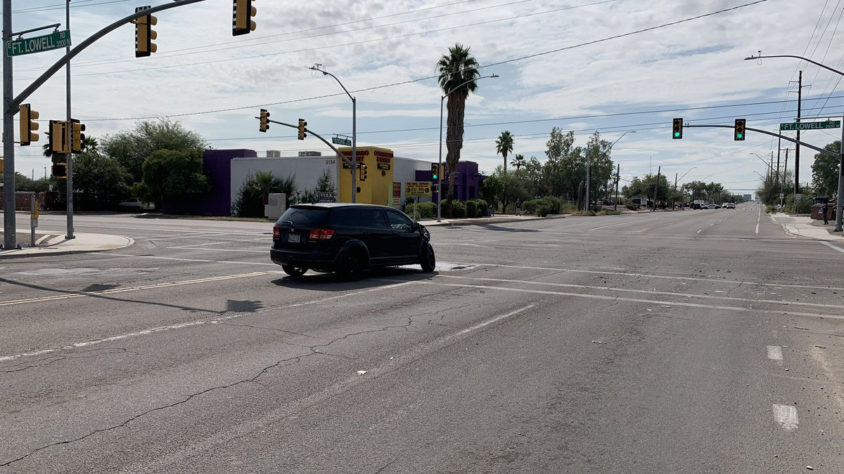 The Tucson Police Department is investigating a two-vehicle crash at the intersection of Stone...