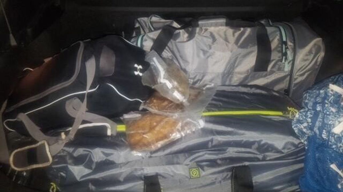 Border Patrol agents arrested three women who had 152 pounds of meth hidden in duffle bags in...