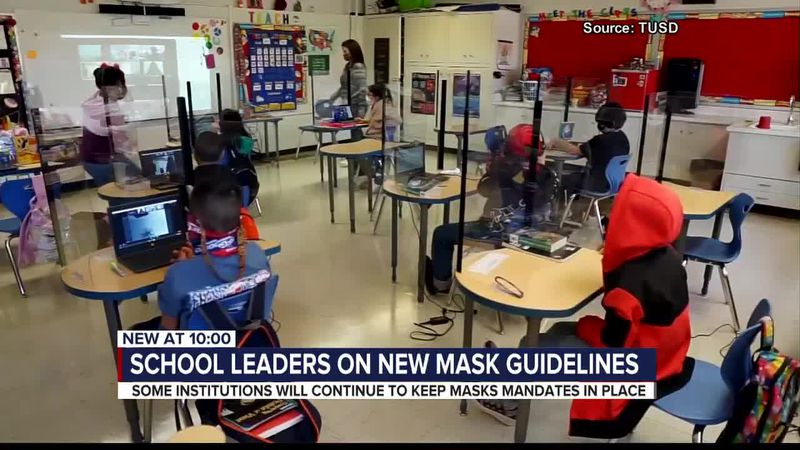 The CDC's new mask guidelines may not apply to some schools in southern Arizona.
