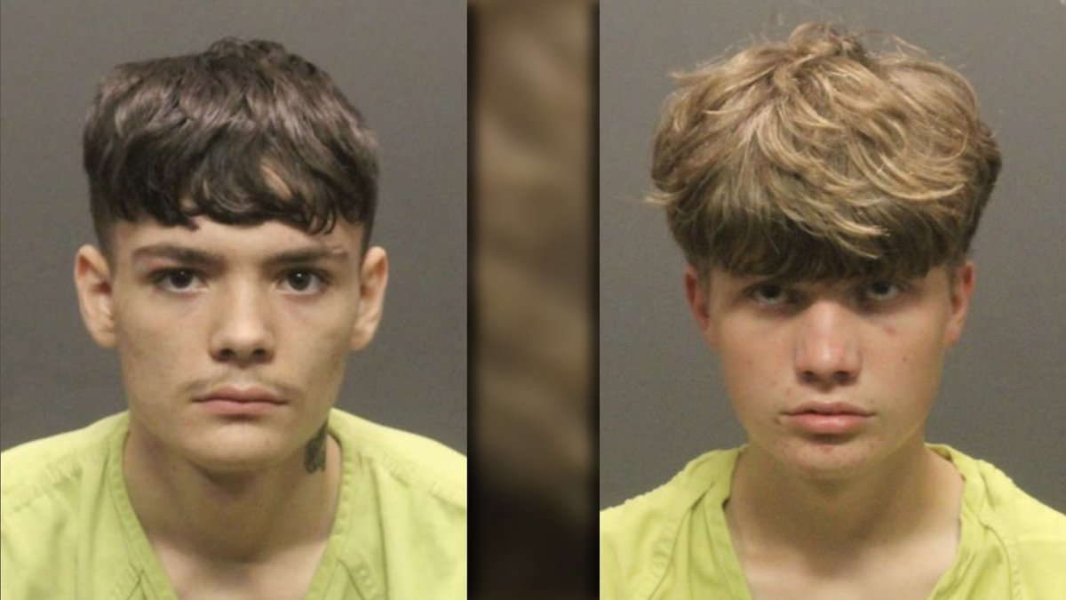 Brian Lannin, 16, and Samuel Salisbury Jones, 15, have been charged with first-degree murder...