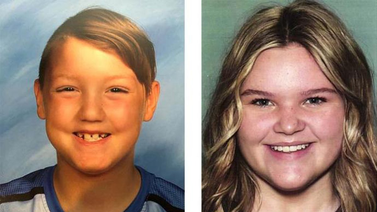 """Joshua """"JJ"""" Vallow, de 7 años, y su hermana de 17 años, Tylee Ryan, no han sido vistos desde..."""
