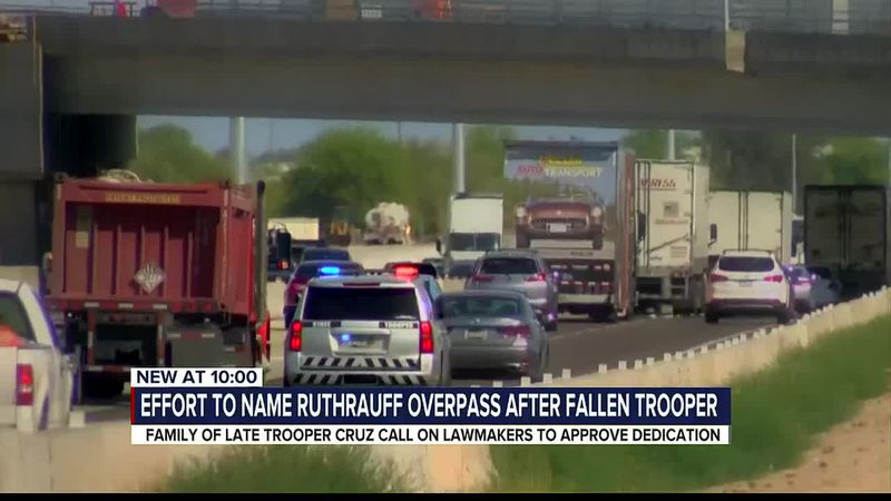 Effort to name Ruthrauff overpass after fallen DPS trooper
