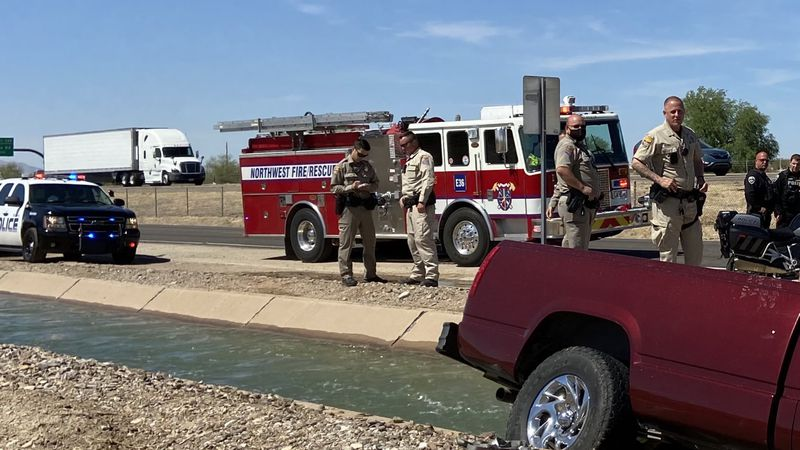 Northwest Fire responded to a water rescue off I-10 near Sandario Rd.