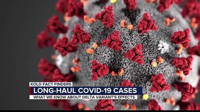 Long-haul COVID cases
