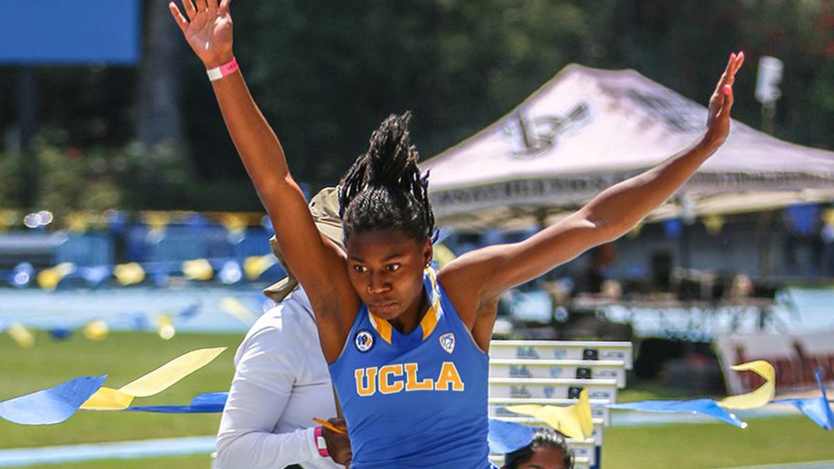 UCLA's Jai Gruenwald hopes to return to form in spring 2022, her senior year.