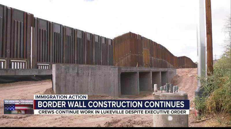 Lukeville border wall status