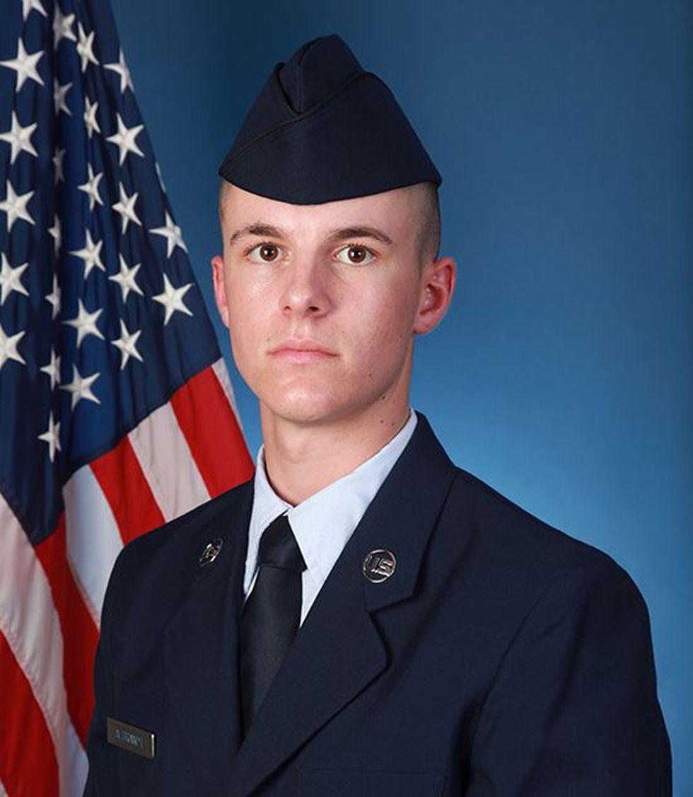 U.S. Air Force Airman Hunter J. Albrandt