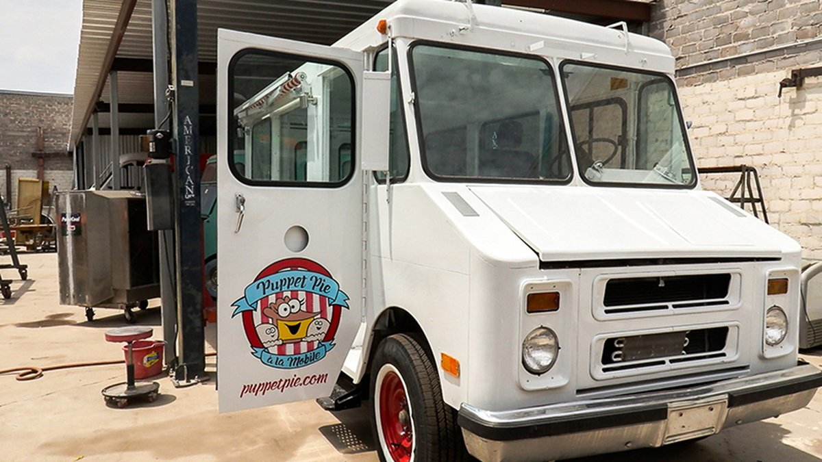 Stacey Gordon purchased this 1973 step van from Conrad Martinez of Misfits Cick Kustoms, who's...