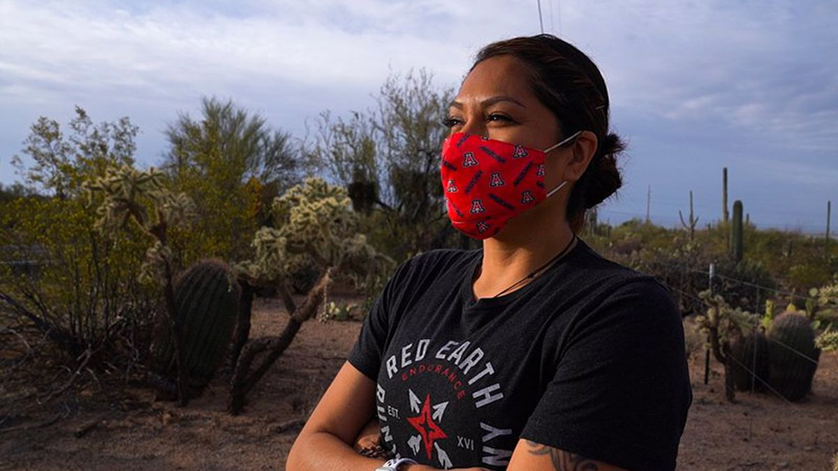 Marlinda Bedonie has found a passion for running and representing her Indigenous culture on...