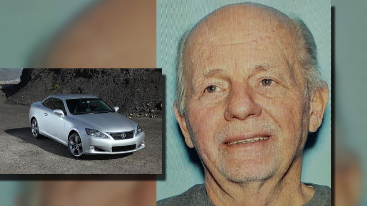 George Kovacs, 82, may be driving a silver 2011 Lexus IS.