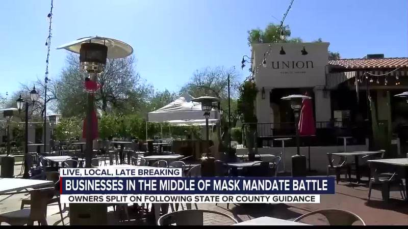 Businesses on mask confusion