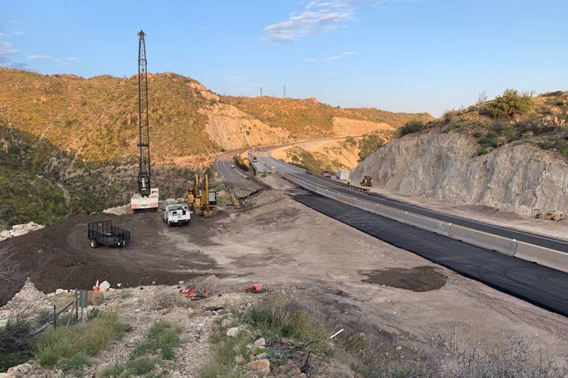 The Arizona Department of Transportation began the $22.7 million project to replace the Pinto...