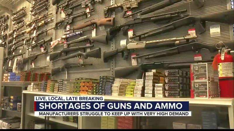 Chaos, campaigns & COVID-19 cause run on guns and ammo at local gun shop