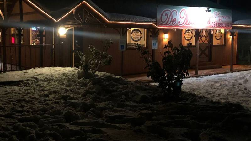 Snow meant more business for one Oracle restaurant. (Source: Tucson News Now)