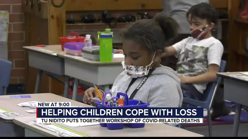 Pandemic grief: local organization helps children cope with loss