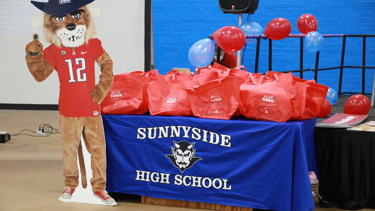 Sunnyside High School is now ranked number one in the nation for admissions from a high school...