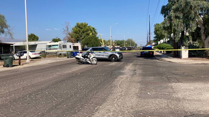 Tucson police are investigating a shooting on West Glenn Street.