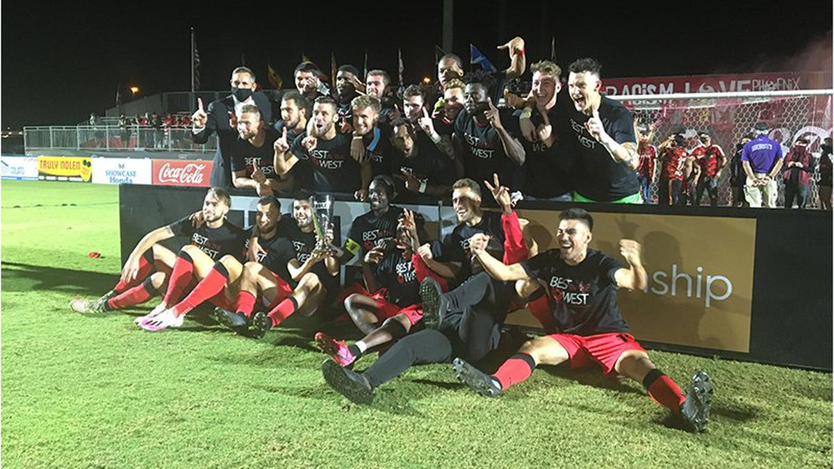 After the Phoenix Rising FC won the USL Championship Western Conference, the USL Championship...