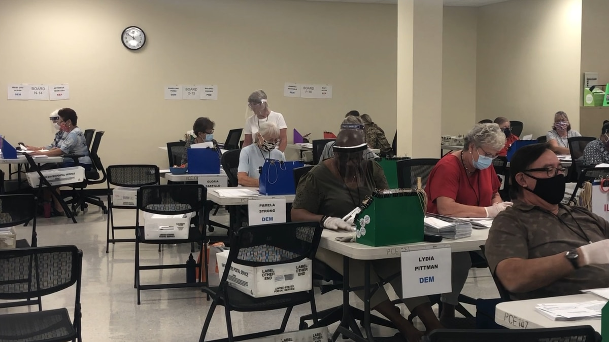 Record number of early ballots returned