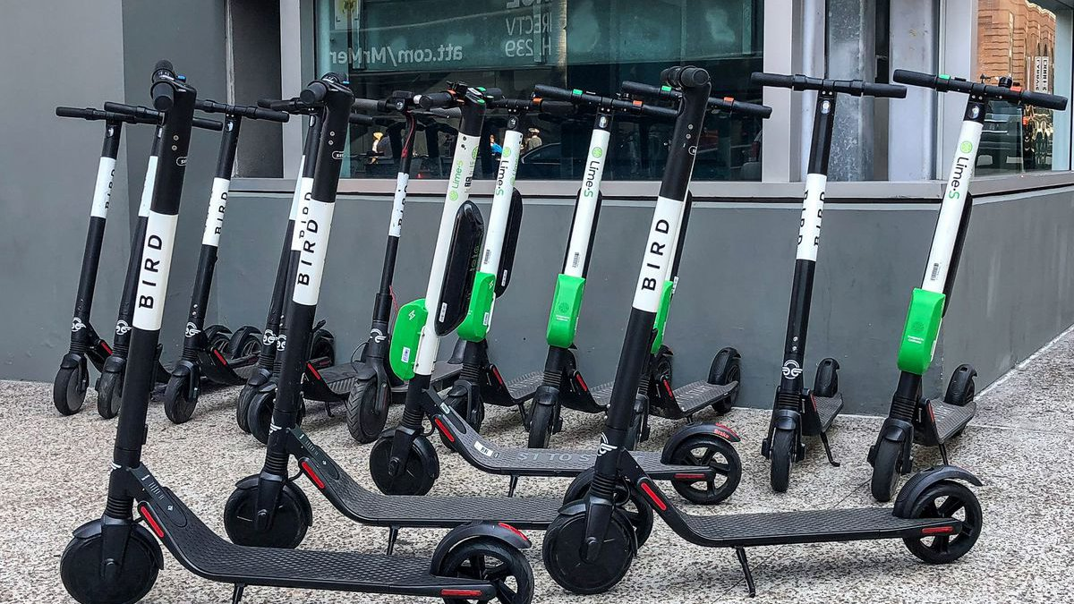 Bird will provide half of the scooters that will be available in downtown Tucson