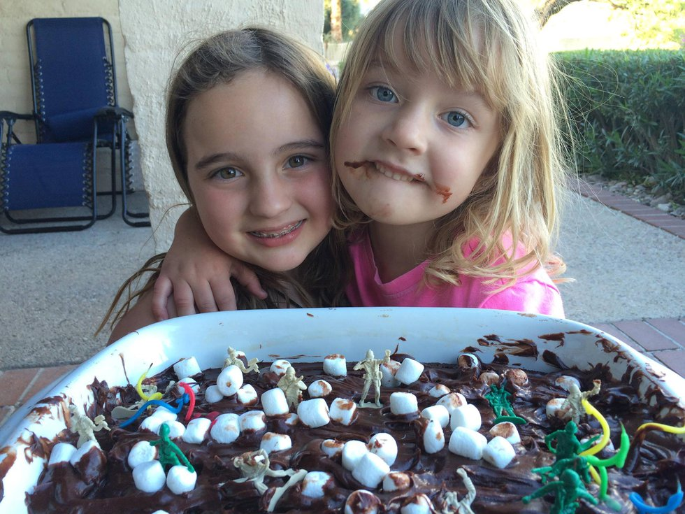 Authorities said 8-year-old MacKenzie Parker and 5-year-old Haylee Parker were killed by their...