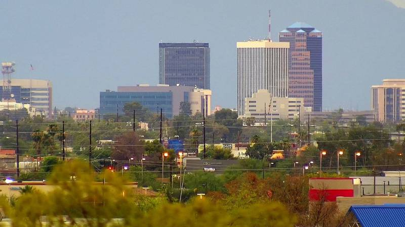 Downtown Tucson skyline (Source: Bill Morrow)