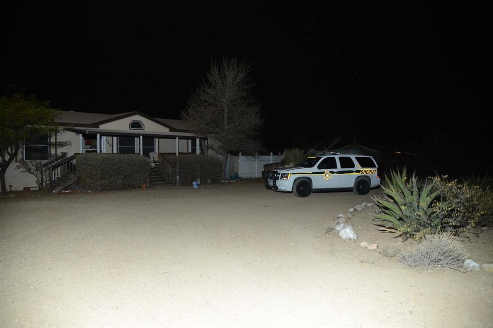 Deputies worked late into the evening (Source: PCSD).
