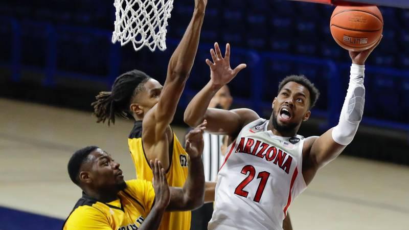 Jordan Brown, Redshirt Sophomore basketball player at University of Arizona