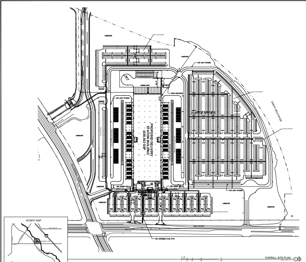 """Marana residents """"caught off guard"""" by construction of a massive distribution center"""