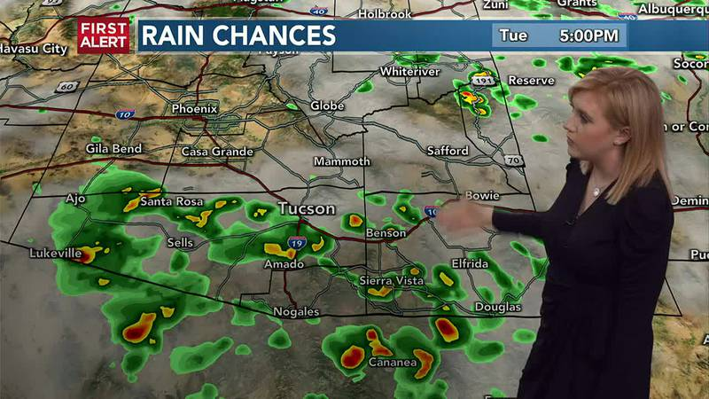 KOLD First Alert forecast, Tuesday afternoon, July 27