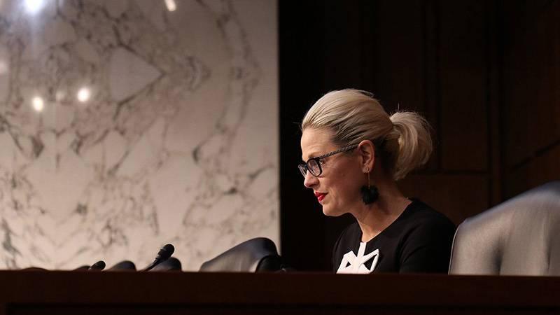 Sen. Kyrsten Sinema, D-Ariz., says she's long been for keeping the United States Senate's...