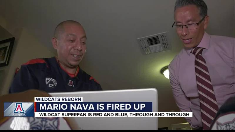 Sports are more than just a distraction for Arizona super fan Mario Nava, who's known to many...