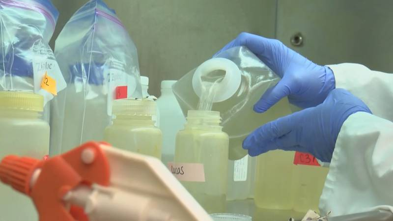 Researchers will be testing the wastewater for another infectious disease responsible for...