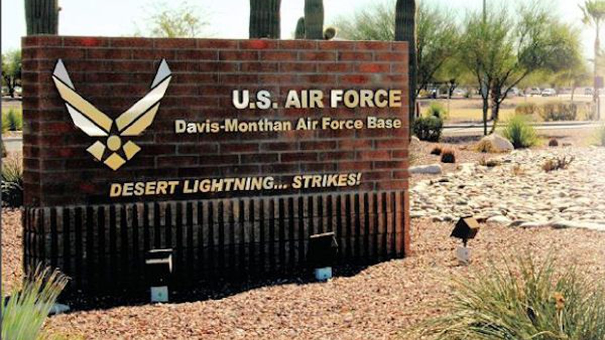 Davis-Monthan Air Force Base will conduct emergency drills, which may cause loud noises in the...