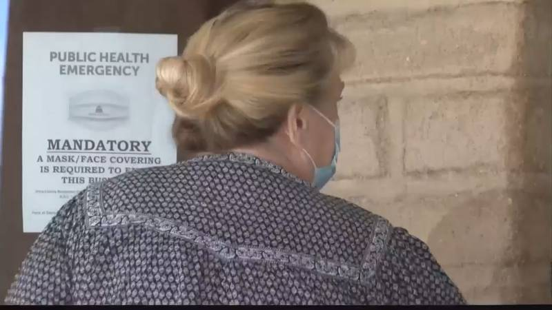 Pima County still has a mask mandate in effect whether or not you've been vaccinated.