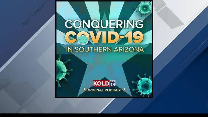 Conquering COVID podcast tease